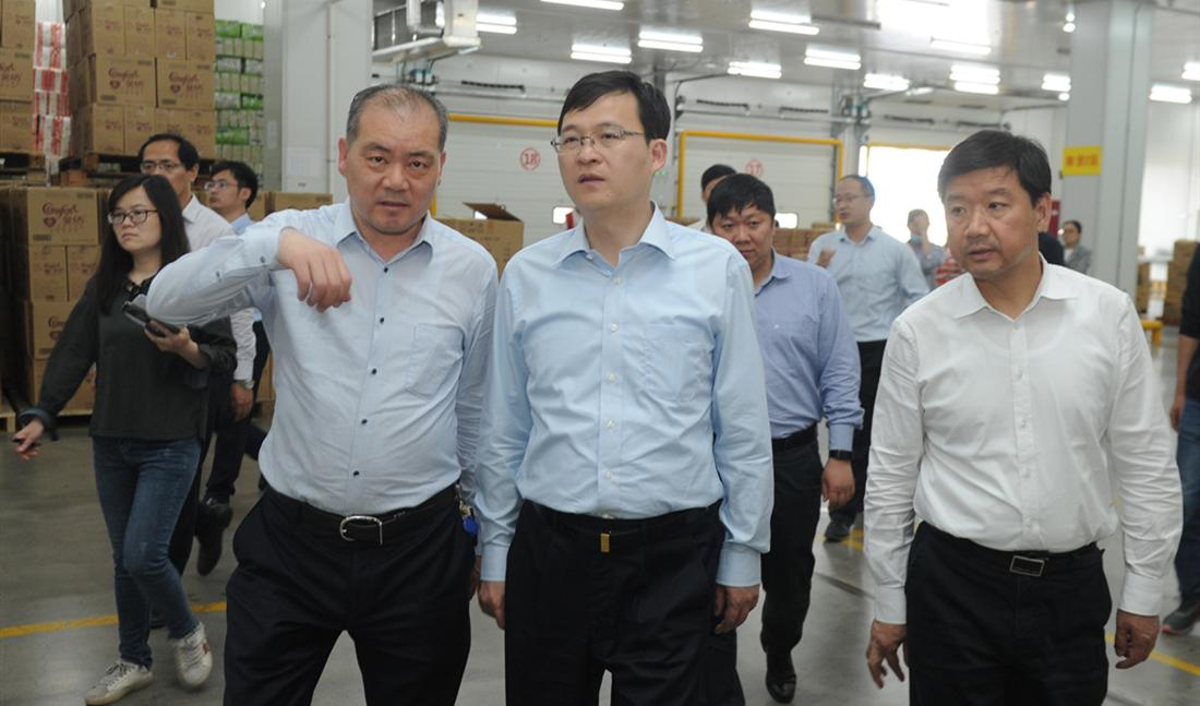陈之常市长调研推进食品产业发展